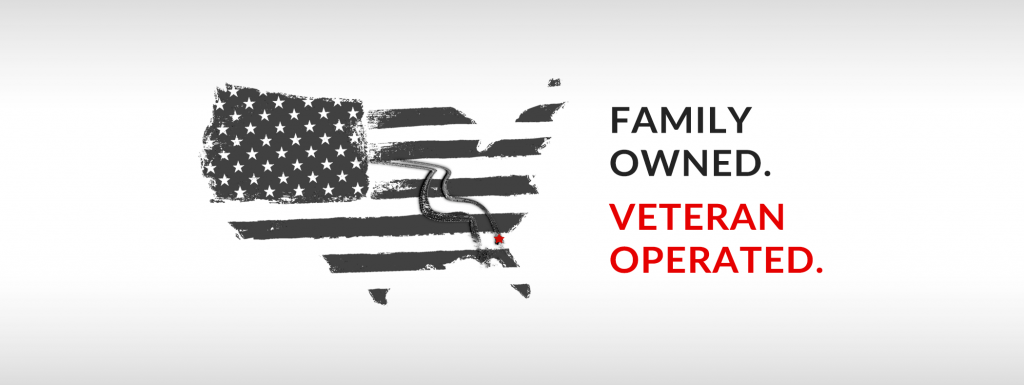 Family Owned, Veteran Operated
