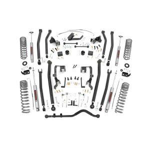 4in Jeep Long Arm Suspension Lift Kit (07-11 Wrangler JK; 2-door)