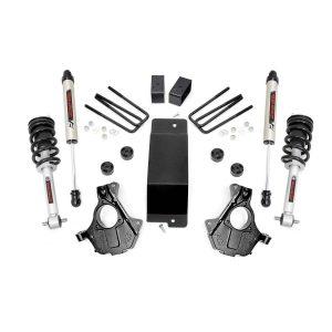 3.5in GM Suspension Lift, Knuckle Kit w/ Struts (07-13 1500 PU 4WD, Cast Steel)