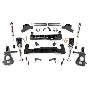 7in GM Suspension Lift Kit, Lifted Struts & V2 (14-18 1500 PU 2WD, Aluminum/Stamped Steel)