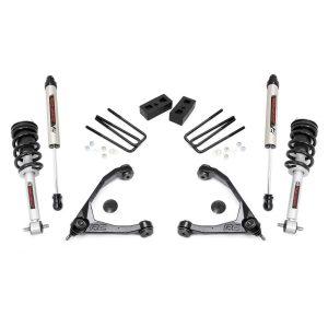3.5in GM Suspension Lift Kit, Upper Control Arms, V2 Shocks & N3 Struts (07-13 1500 PU 2WD)