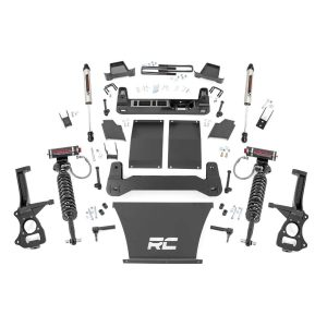 6in Suspension Lift Kit, Vertex Coilovers & V2 Shocks (19-20 Chevy 1500 PU 4WD/2WD)