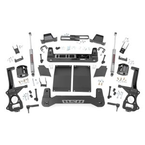 6in GM Suspension Lift Kit, Strut Spacers, Diesel (19-20 Chevy/GMC 1500 PU 4WD/2WD)