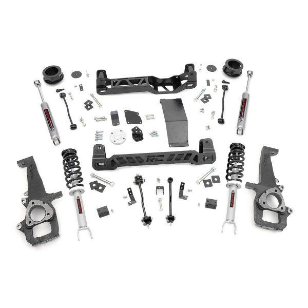 4in Dodge Suspension Lift Kit, N3 Struts & N3 Shocks (12-18 Ram 1500 4WD)