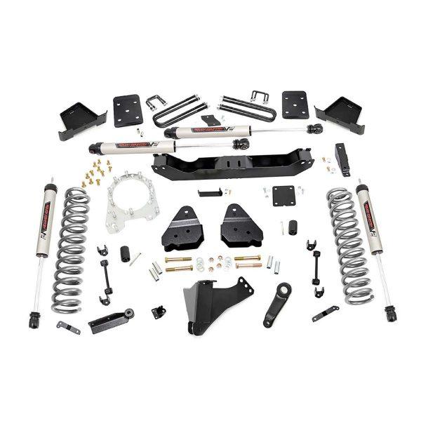 4.5in Ford Suspension Lift Kit w/V2 Shocks (17-19 F-250/350 4WD, Diesel)