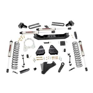 4.5in Ford Suspension Lift Kit w/V2 Shocks (17-20 F-350 4WD, Diesel Dually)
