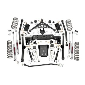 Rough Country 4-inch X-Series Long Arm Suspension Lift System