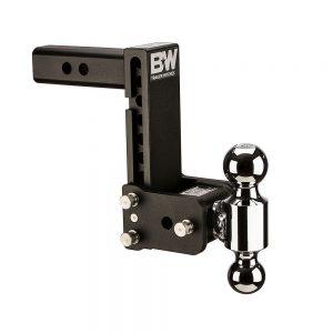 TS10040B B&W TOW AND STOW TRI BALL 2 ADJ BALL MOUNT 5 DROP/5-1/2 RISE, BLACK